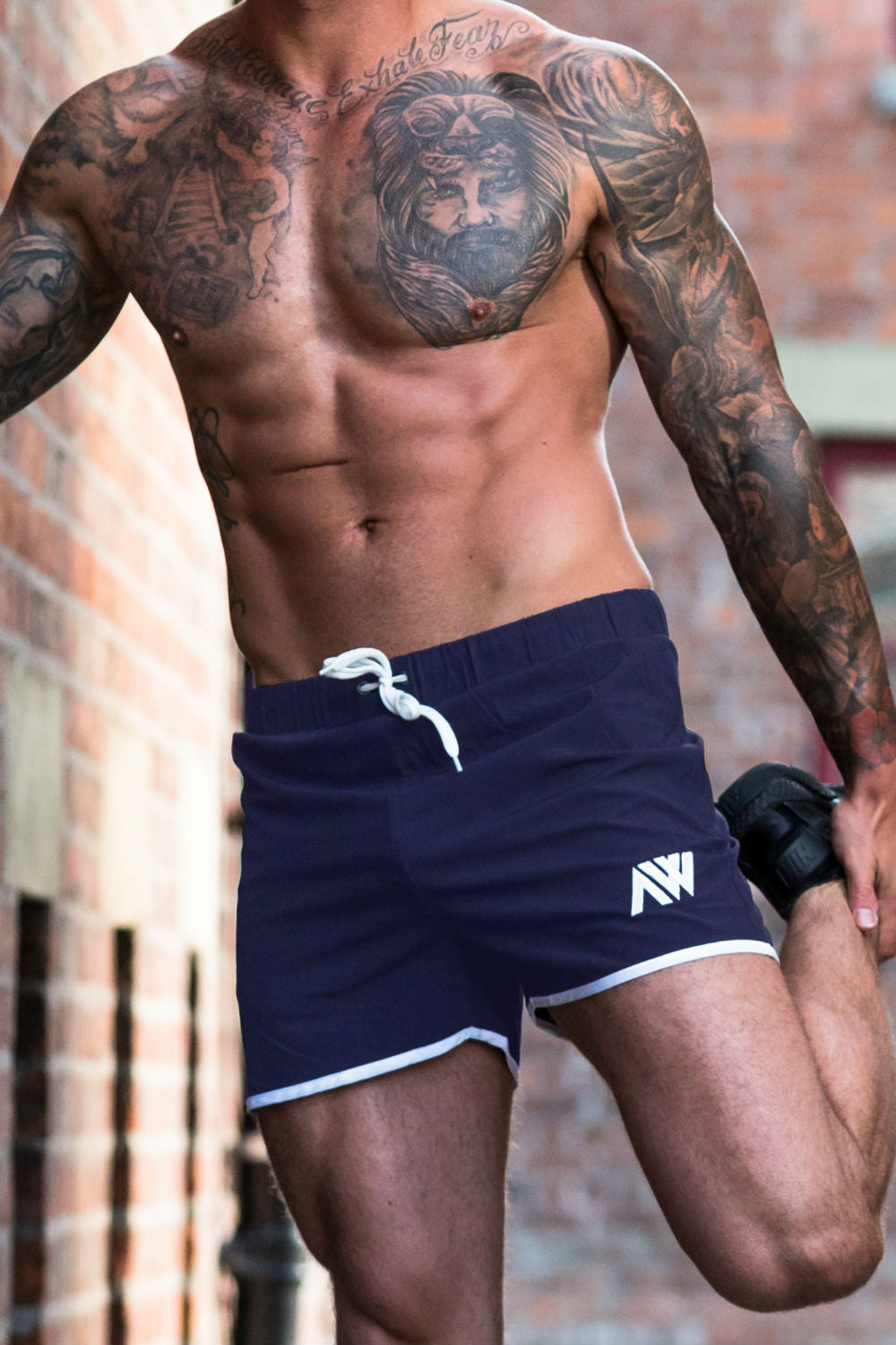 Pro-Fit Stretch Shorts - Navy