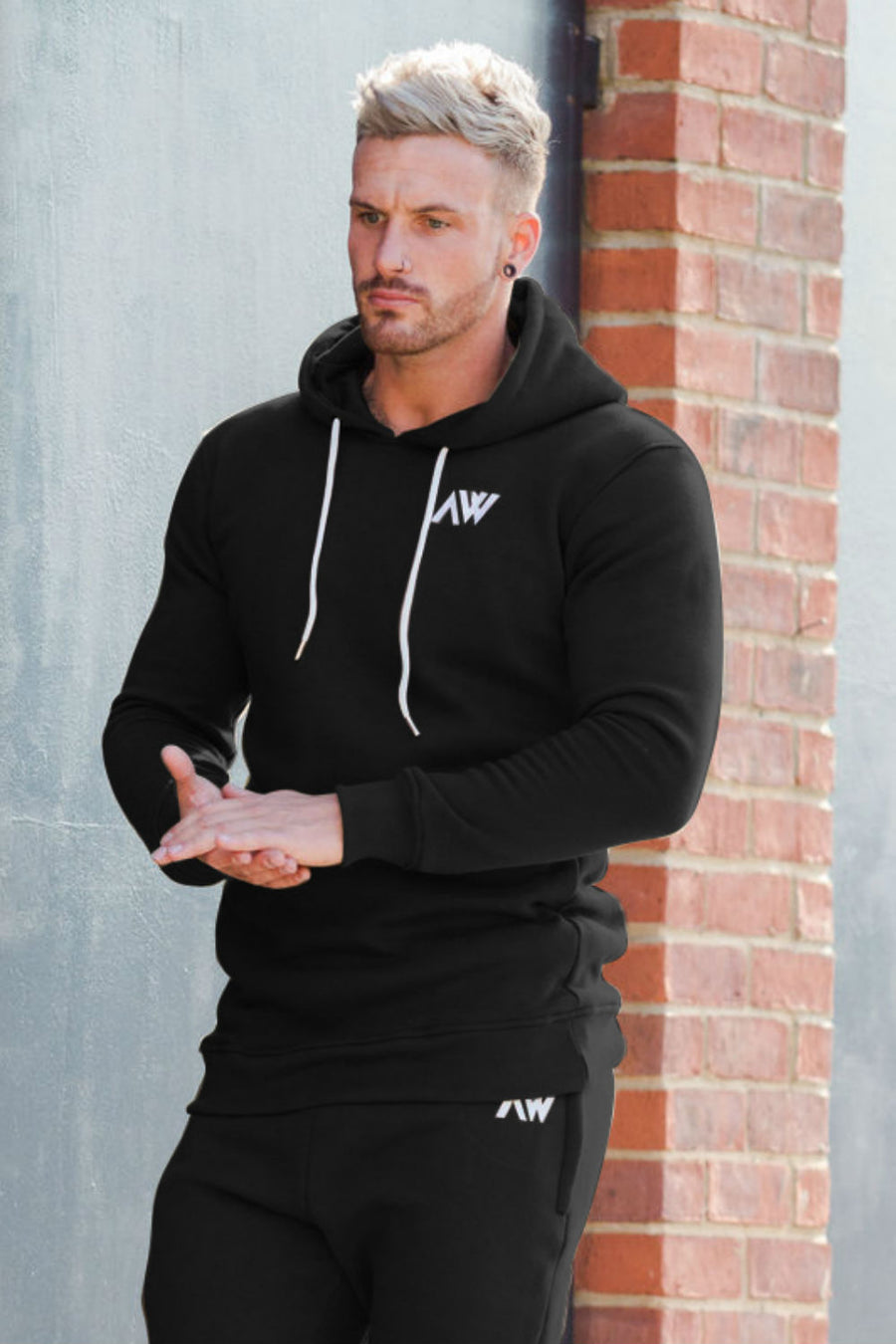 Activewear Aspiring Mens Sleeveless Gym Jogging Activewear Tracksuit Hooded Top Short Bottoms Suit Modern Design Men's Clothing