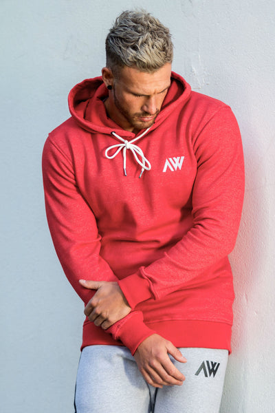 Icon Pullover Hood - Red