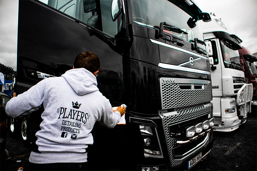 Players Detailing Truck Polish