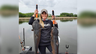 EP. 133 Catfishing 101 with Whisker Seeker Tackle's Amy Hansen