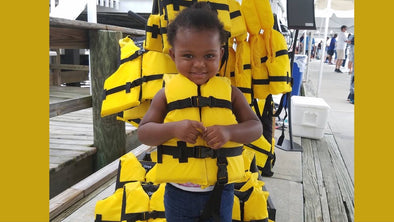 EP. 146 Boating can be Safe and Fun! Sea Tow Foundation's Gail Kulp on the Life Jacket Loaner Program