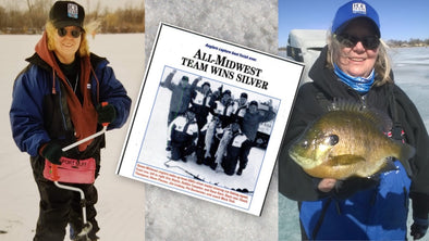 EP. 161 Breaking the Ice Series Featuring World Championship Ice Angler Debbie Compton