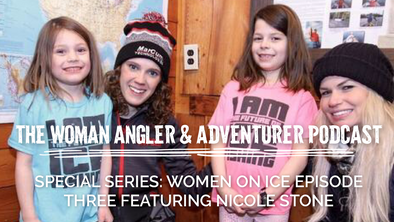 EP. 42 Special Series: Women on Ice Episode Three Featuring Nicole Stone