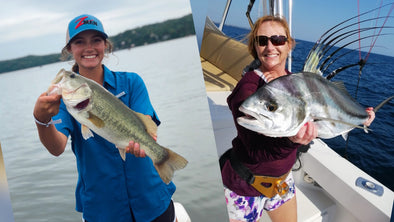 EP. 73 Big Dreams to Have a Career in the Fishing Industry: Lee Rose Koza with Traditions Media Mentor Dena Vick