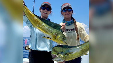 EP. 75 Look out Dorian, Here Come The Gale Force Twins! Sisters Amanda and Emily Gale Doing Fishing Charters in Florida!