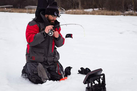 Andy Petterson Ice Fishing