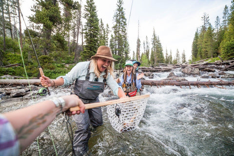 Promotional Image from Orvis 50/50 on the Water Campaign