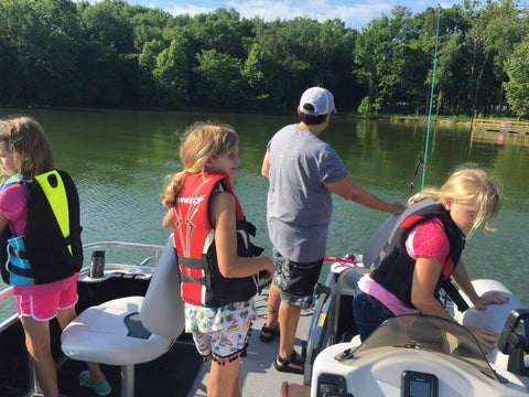 Kids Fishing Day on Qwest Pontoon