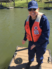 Angie Scott United States Coast Guard Auxiliary Boat Crew