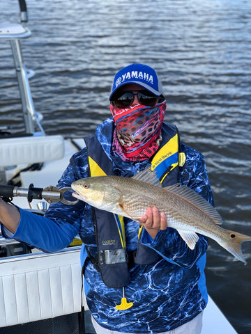 Angie's 2nd redfish!
