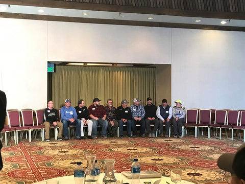 Speakers at the 2018 Fishing Careers Workshop