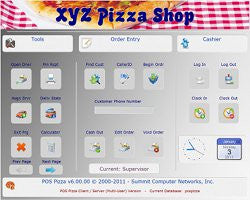 POS Pizza v7 Base Package