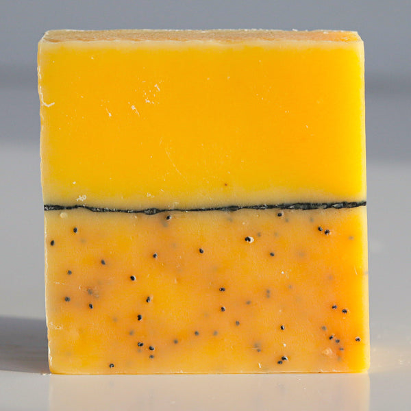Lemon & poppy seed soap