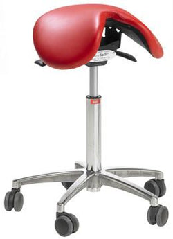 Salli Classic Saddle Stool - Carbonlite Medical Technology