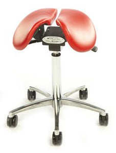 Salli Multi-Adjuster Saddle Stool - Carbonlite Medical Technology