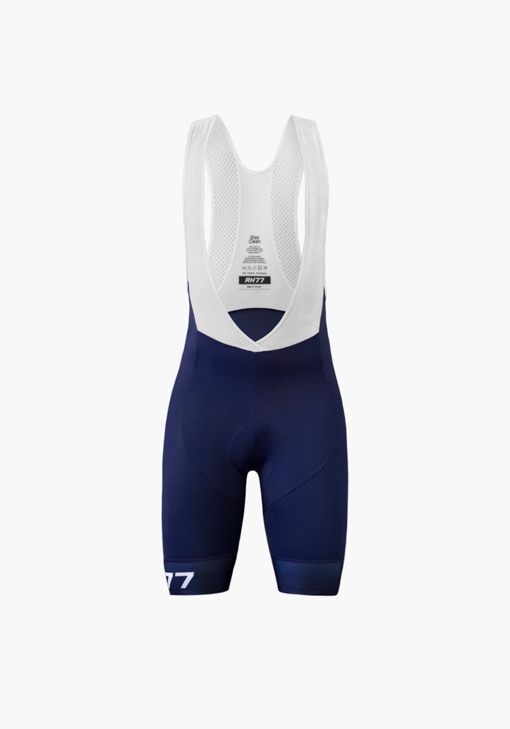 Damen Pro Navy Blue Bib Shorts