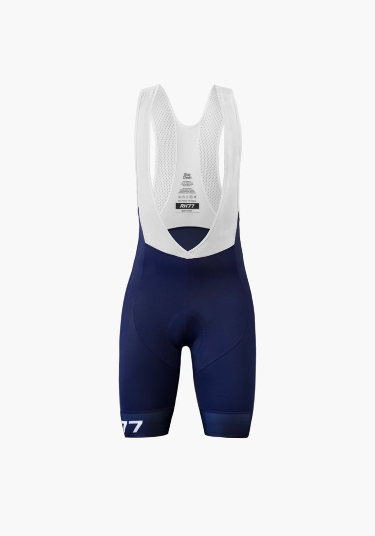 Pro Navy Blue Bib Shorts Women