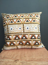 Black Diamond African Fabric Cushion Cover