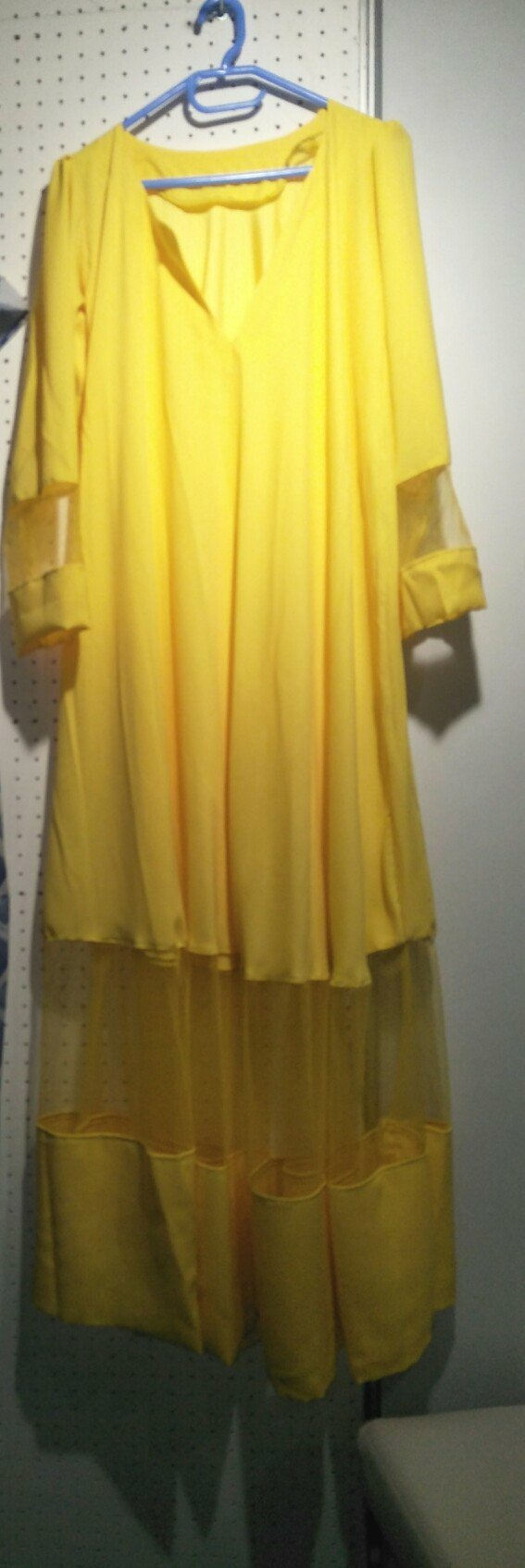 Sunshine Yellow Flowy Dress
