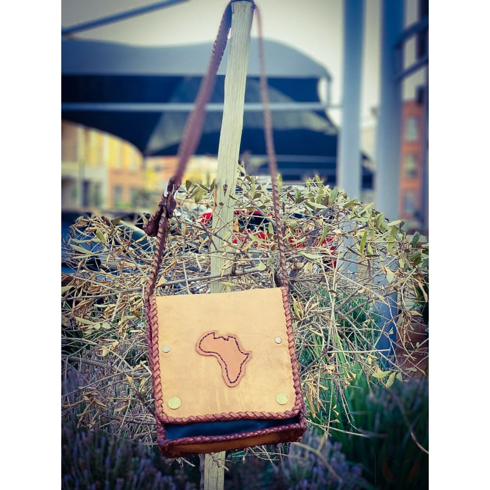 Africa leather bag - leather bag