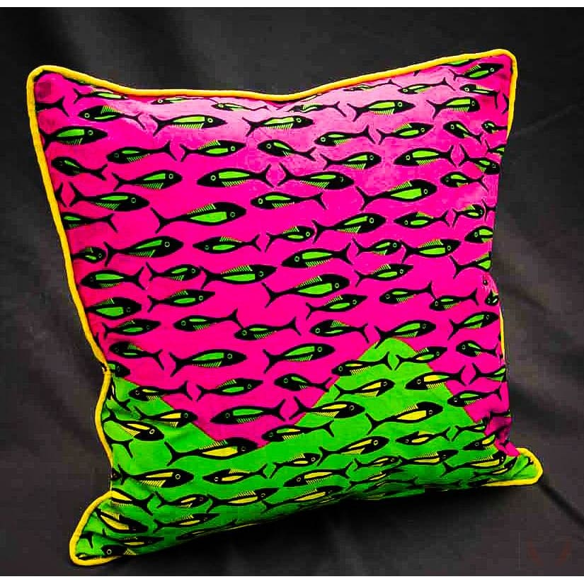 FishieFriday Cushion Cover - Cushion cover