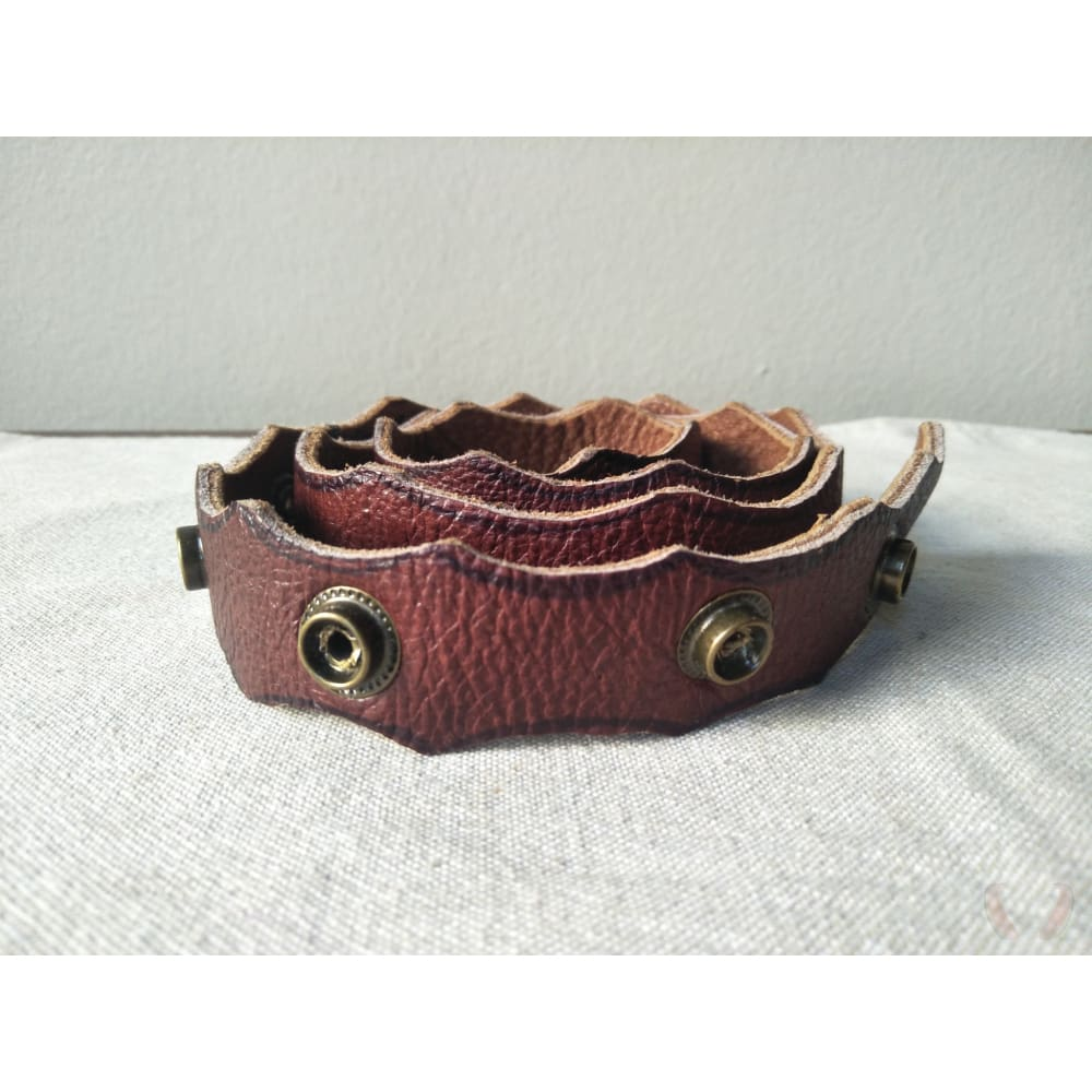 Trim leather belt - Belt