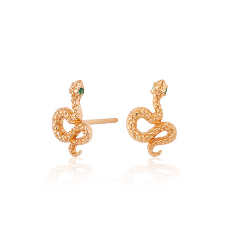 Scream Pretty Snake Stud Earrings