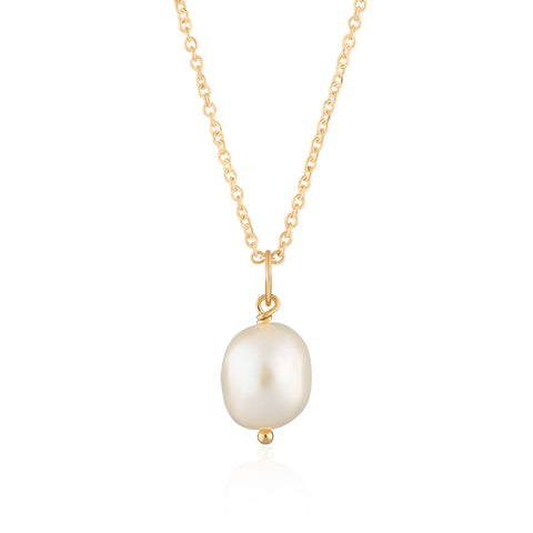 Baroque Pearl Necklace with Slider Clasp