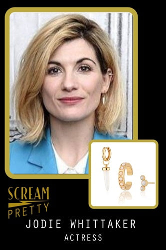 Jodie Whittaker Scream Pretty Jewellery