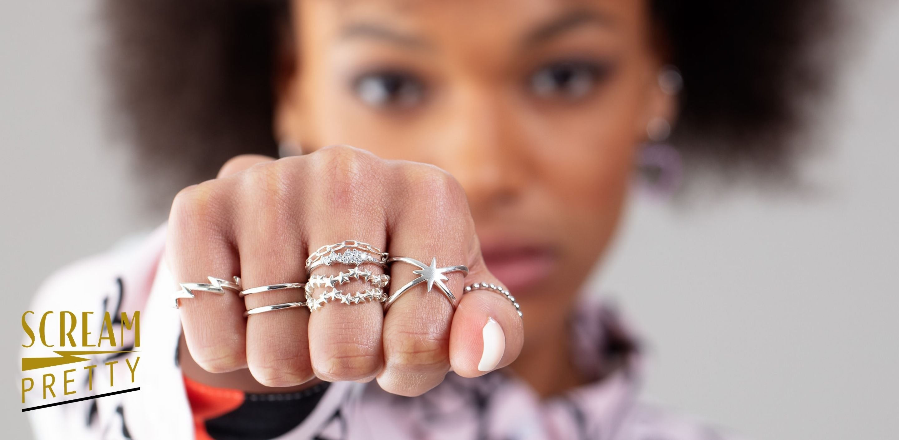 How to create a great Ring Stack Scream Pretty
