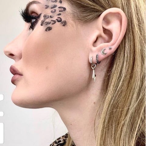 Curated Ear from McQueen Tattoos