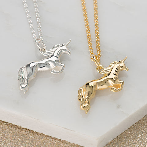 Scream Pretty Unicorn Necklace