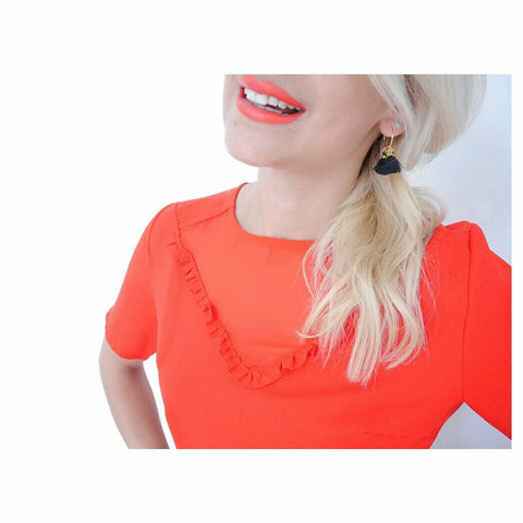 Statement Earring Fashion Stylist Scream Pretty