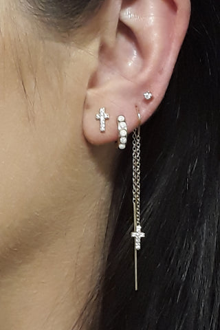 Scream Pretty Cross Earrings