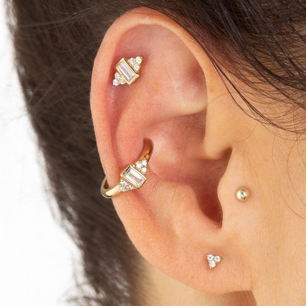 Audrey Ear Cuff, Single Ear Cuff