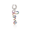 Rainbow Love Huggie Hoop Earring (Single Earring)