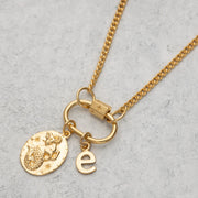 Gold Plated Letter Charm