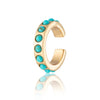 Turquoise Ear Cuff, Single Ear Cuff - Scream Pretty