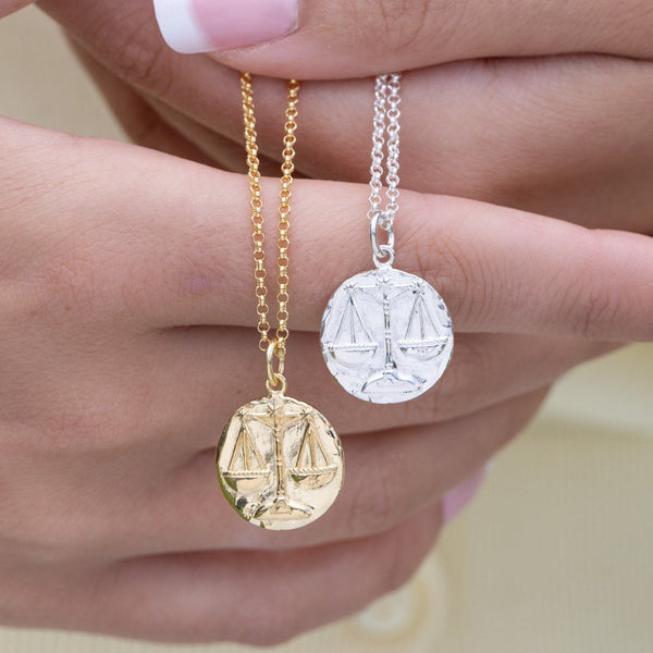 Libra Zodiac Necklace