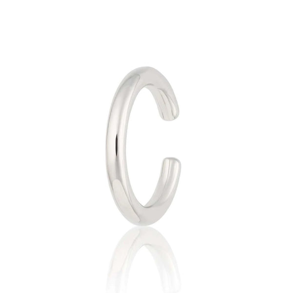 Slim Plain Ear Cuff, Single Ear Cuff - Scream Pretty