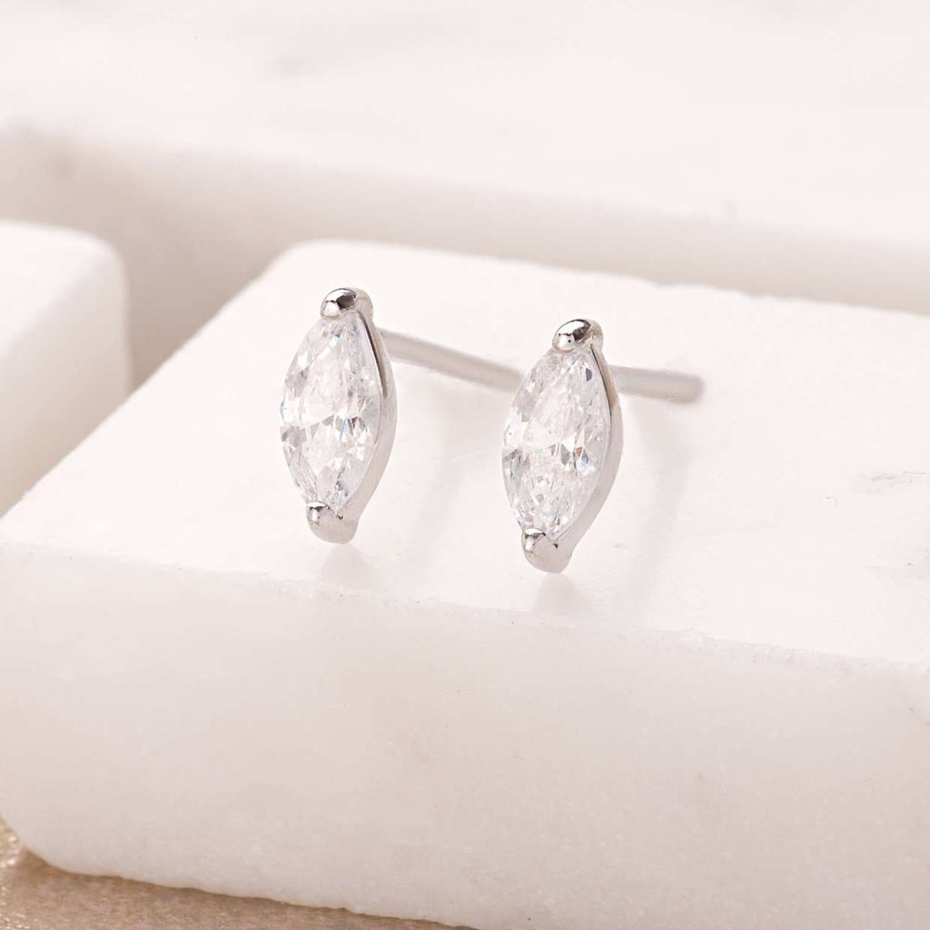 Crystal Droplet Stud Earrings - Scream Pretty