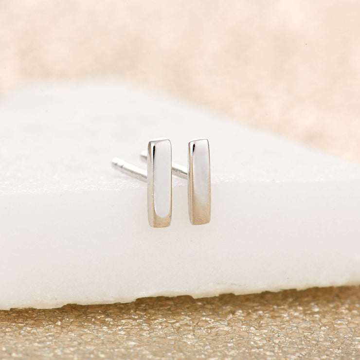 Dash Stud Earrings - Scream Pretty