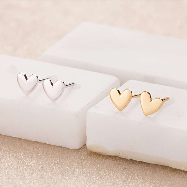 Earrings - Heart Stud Earrings