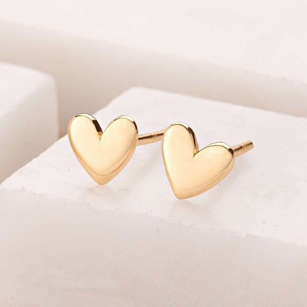 Heart Stud Earrings - Scream Pretty