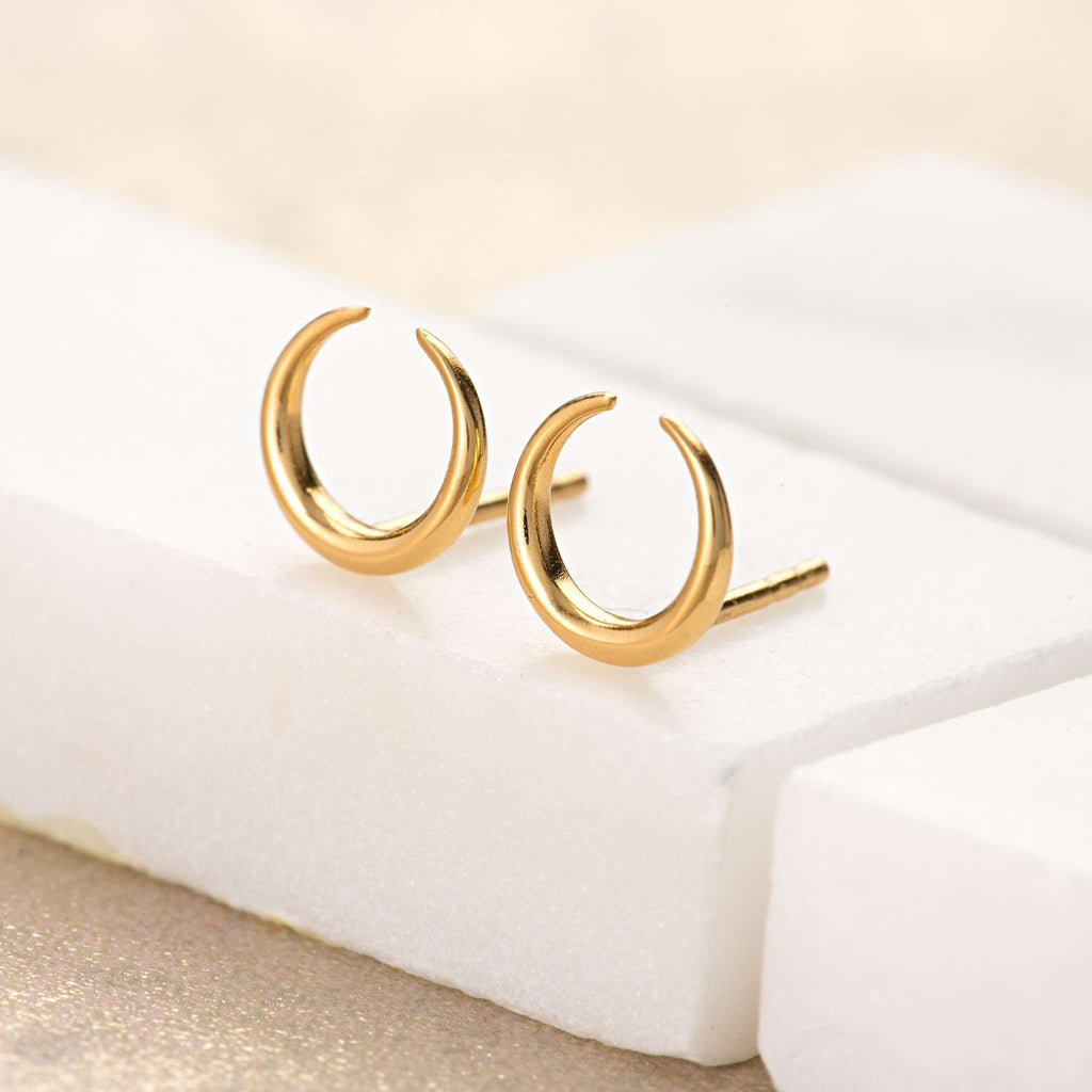 Earrings - Horn Stud Earrings
