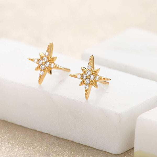 Earrings - Starburst Stud Earrings