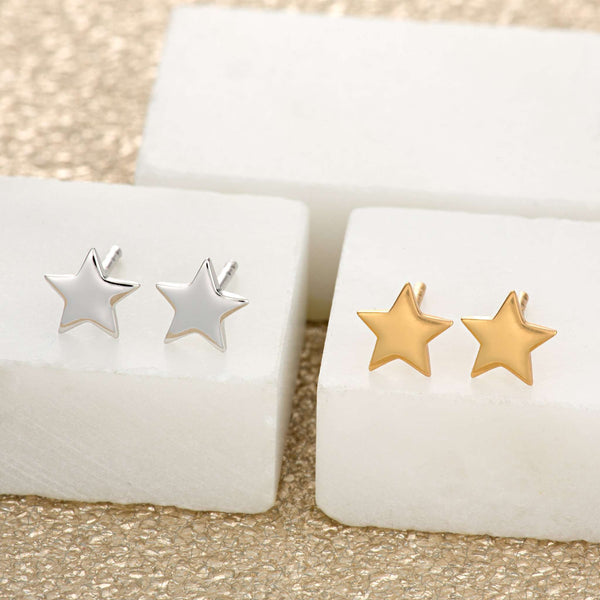 Tiny Star Stud Earrings - Scream Pretty
