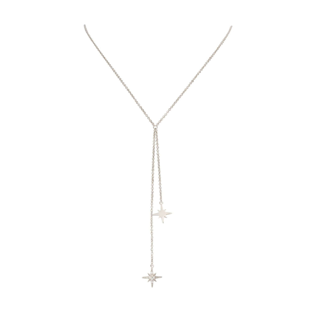 Double Drop Starburst Necklace - Scream Pretty