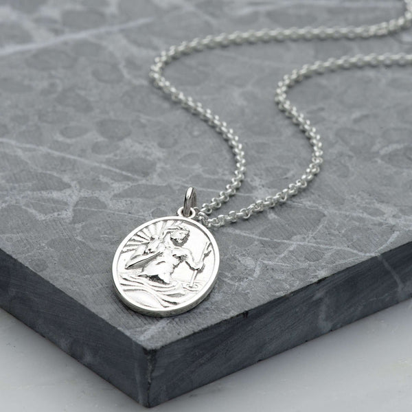 St Christopher Necklace - Scream Pretty